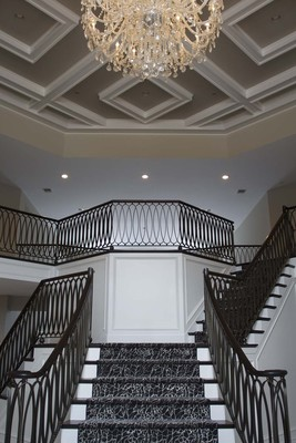 Large custom w staircase0826